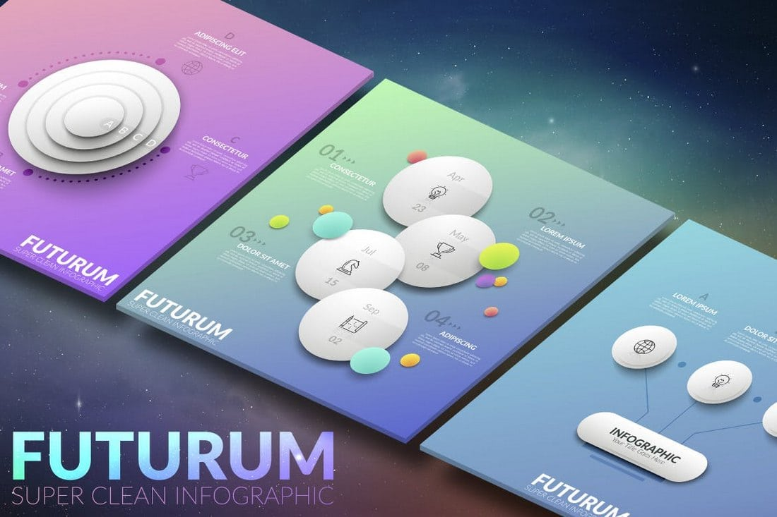 Futurum-Infographic-White 40+ Best Infographic Templates (Word, PowerPoint & Illustrator) design tips