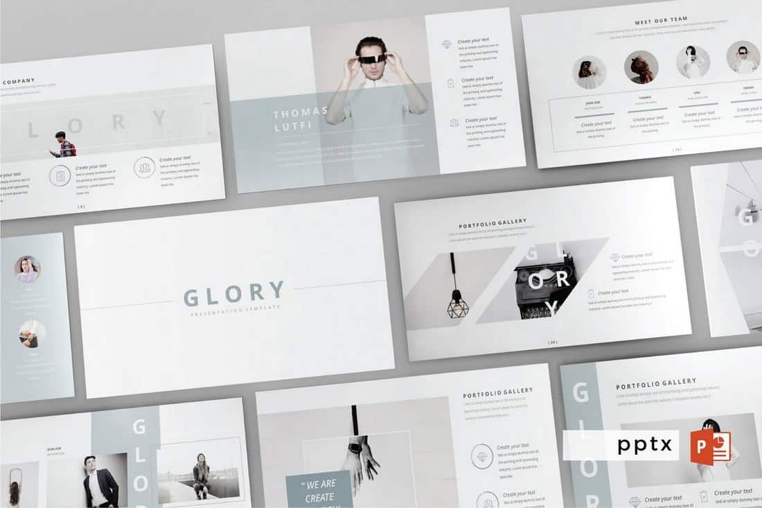 GLORY - Multipurpose Powerpoint Template