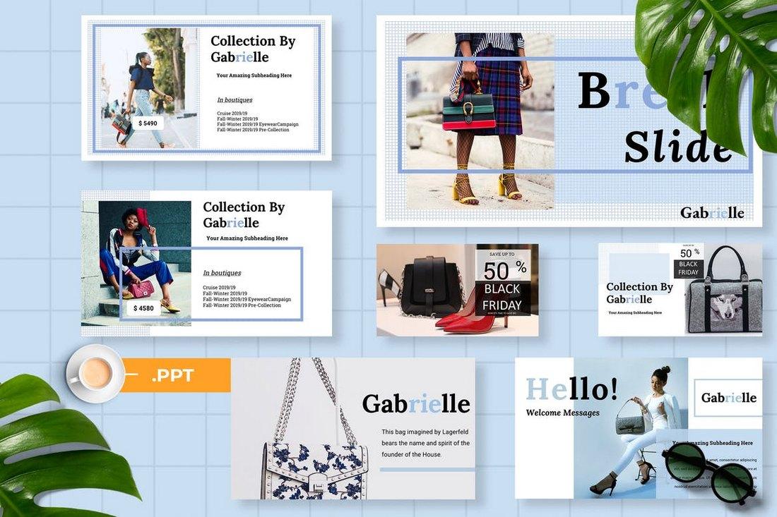 Gabrielle-Powerpoint-Presentation 60+ Beautiful, Premium PowerPoint Presentation Templates design tips  Inspiration|microsoft|powerpoint|presentation|template