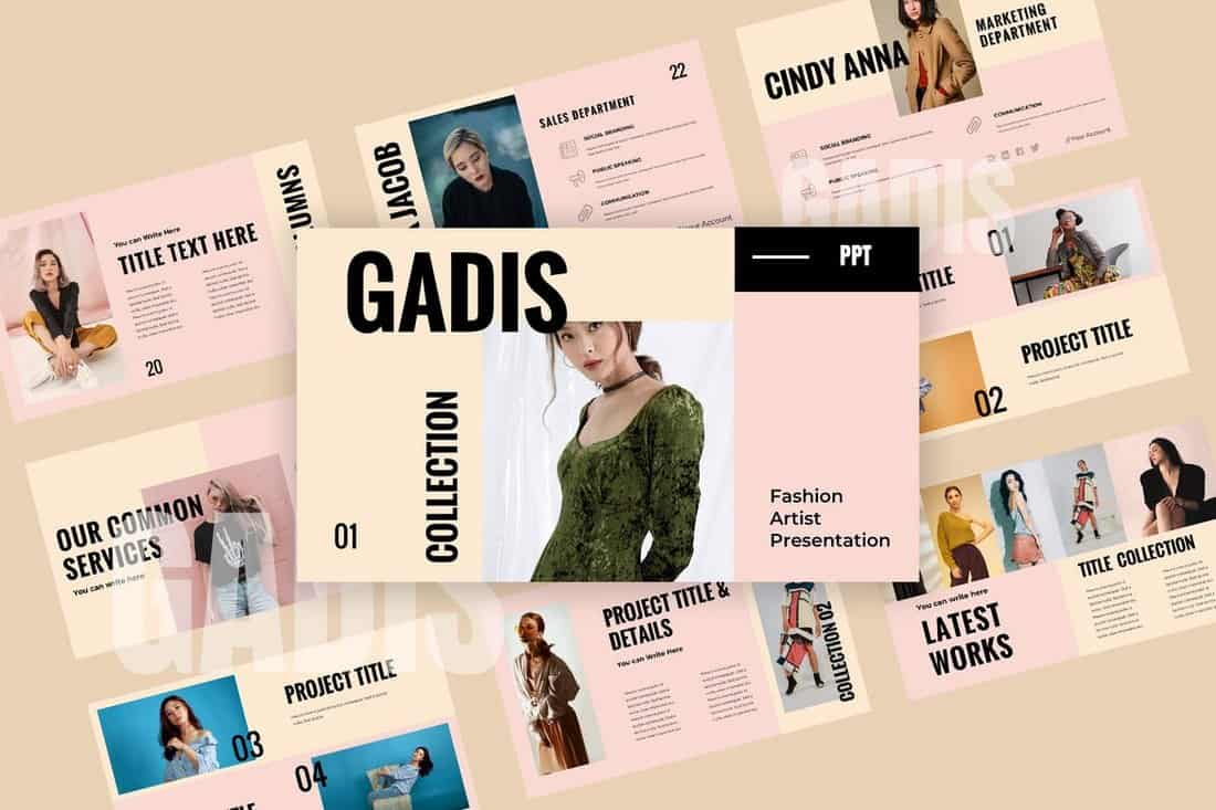 Gadis - Modern Powerpoint Presentation