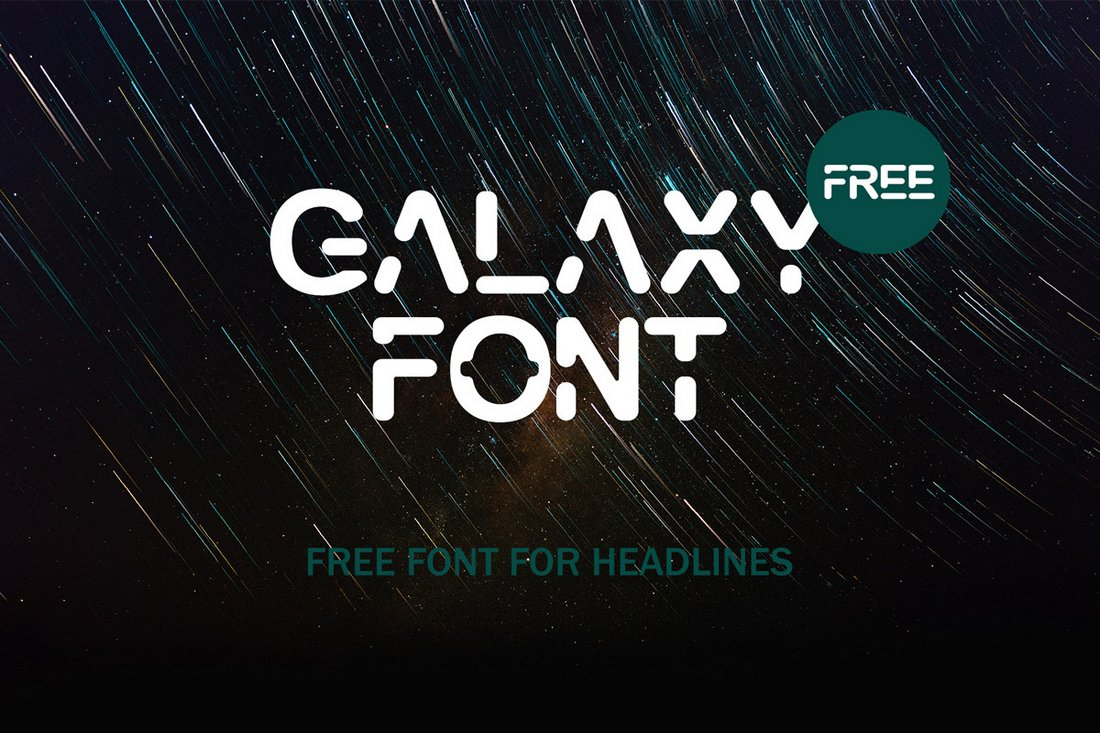 Galaxy-Free-Display-Font 30+ Best Fonts for Posters design tips