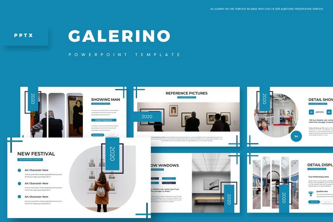 Galerino - Powerpoint Template