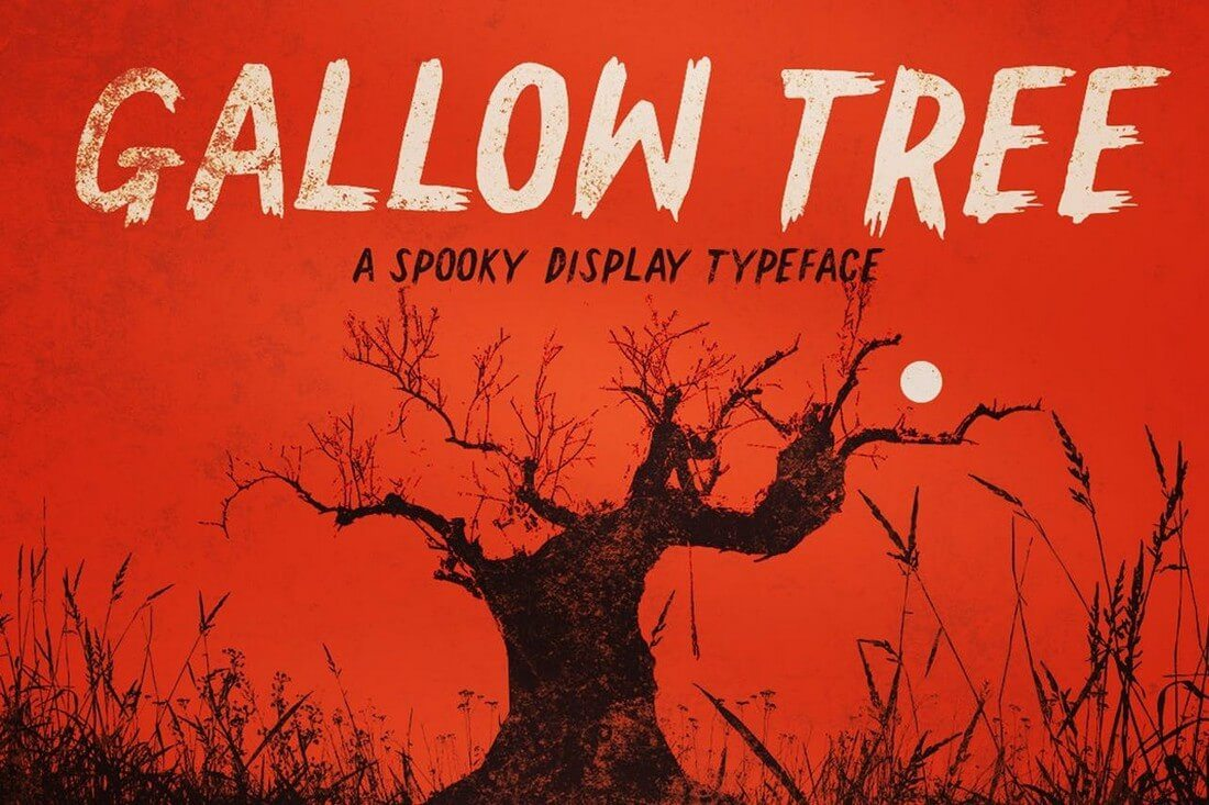 Gallow-Tree 60+ Best Big, Poster Fonts of 2021 design tips