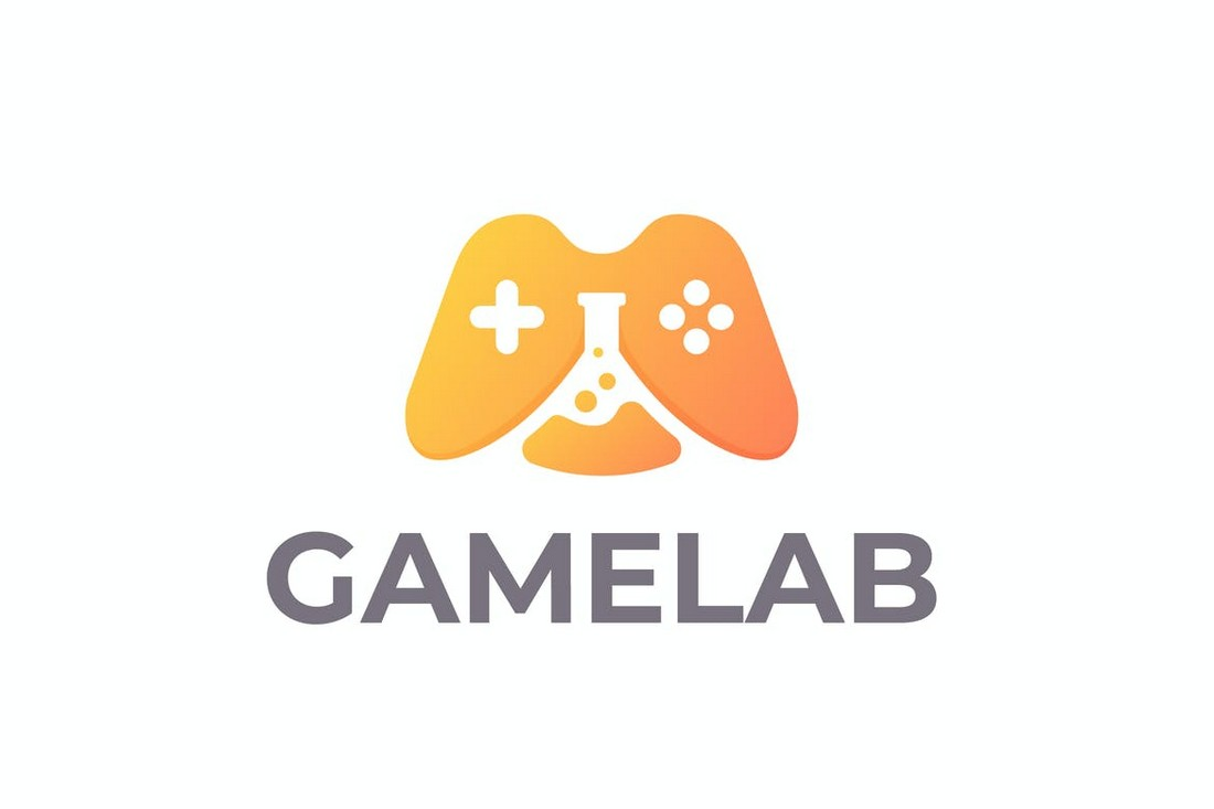 GameLab - Gaming Logo Template