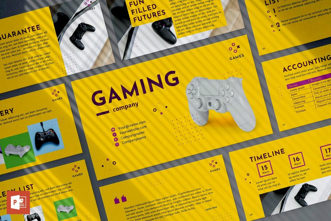 Gaming - PowerPoint Presentation Template