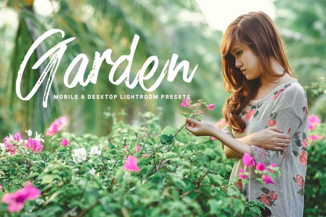 Garden Mobile & Desktop Lightroom Presets