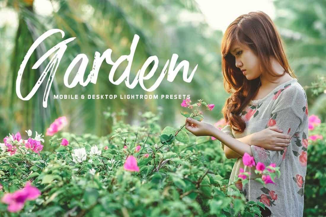 Garden - Outdoor Portrait Lightroom Presets