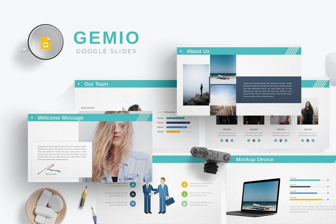 Gemio-Google-Slides-Template 35+ Best Google Slides Themes & Templates 2019 design tips
