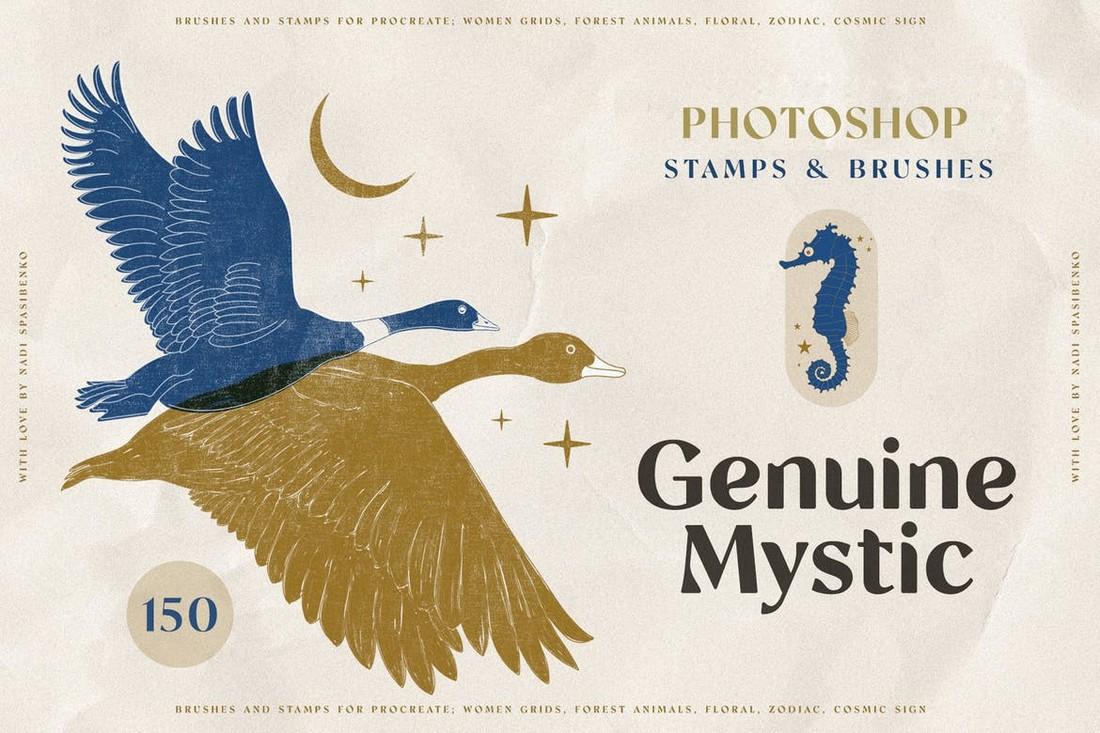 Genuine Mystyc Photoshop Stamps & Brushes