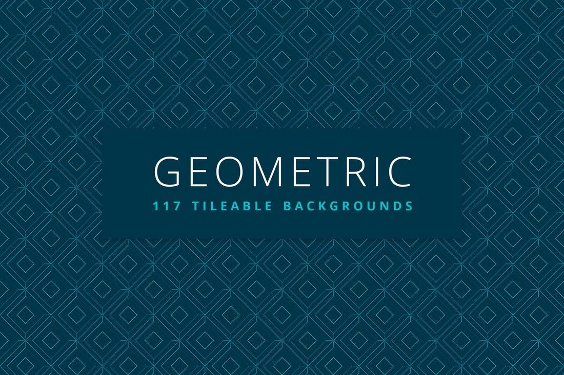 Geometric-117-Tileable-Backgrounds 20+ Beautiful Geometric & Polygon Background Textures design tips