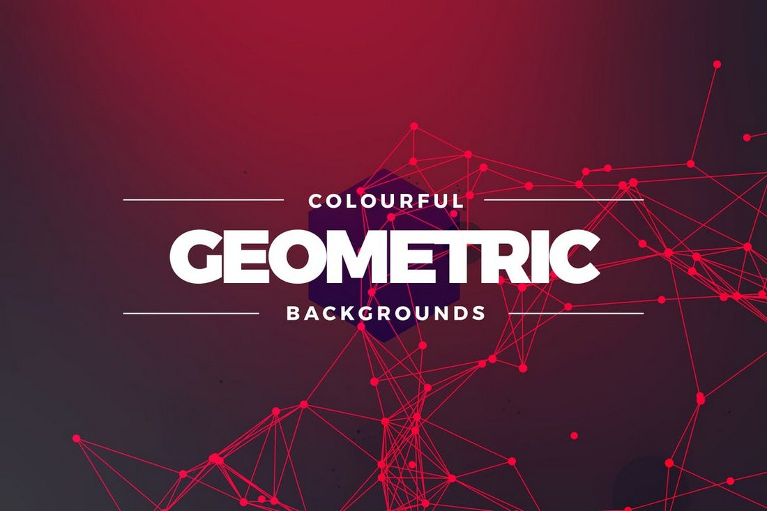 Geometric Colors Backgrounds