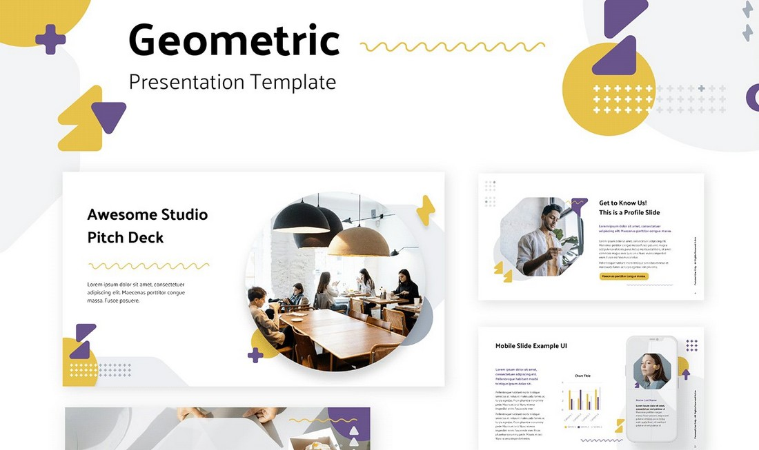 Geometric - Free Keynote Template