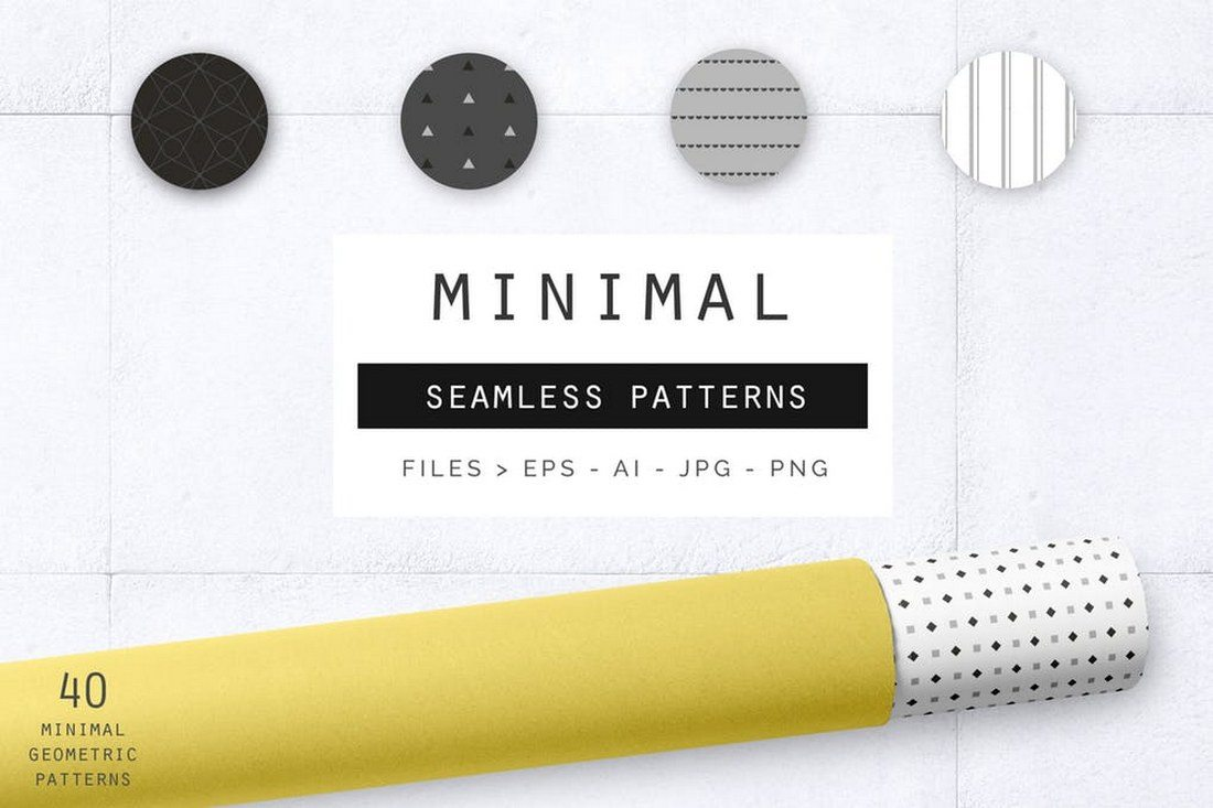 Geometric-Minimal-Patterns 30+ Best Line Patterns & Textures design tips