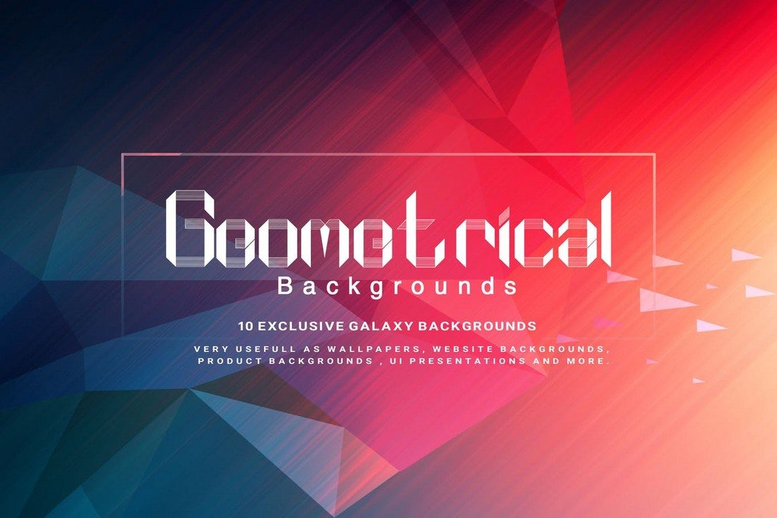 Geometrical-Backgrounds 20+ Beautiful Geometric & Polygon Background Textures design tips
