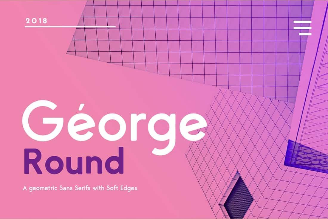George Rounded Sans Serif Font