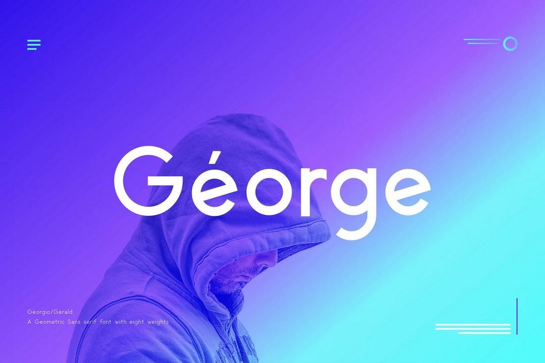 George Sans - Professional Geometric Font