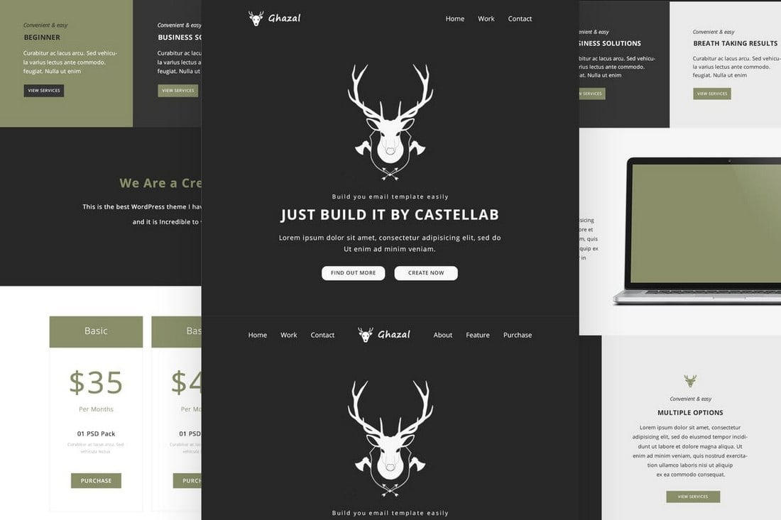 25+ Modern Responsive Email Templates | Design Shack