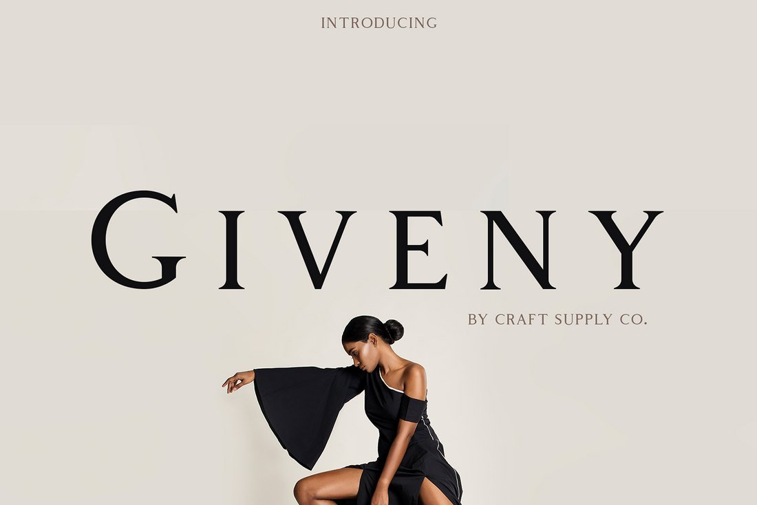 Giveny-Free-Serif-Font 60+ Best Free Fonts for Designers 2019 (Serif, Script & Sans Serif) design tips