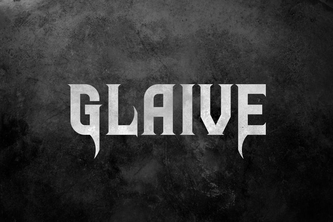 Glaive-Gothic-Typeface 20+ Best Gothic Fonts design tips