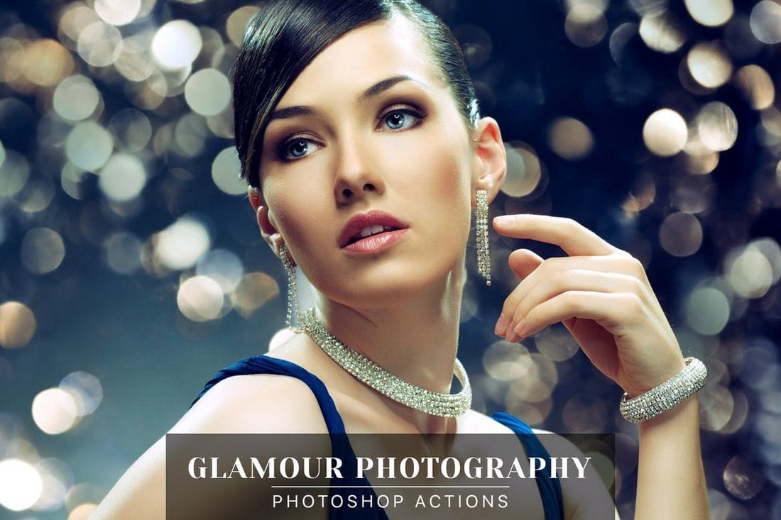 Glamour Photography Photoshop Actions