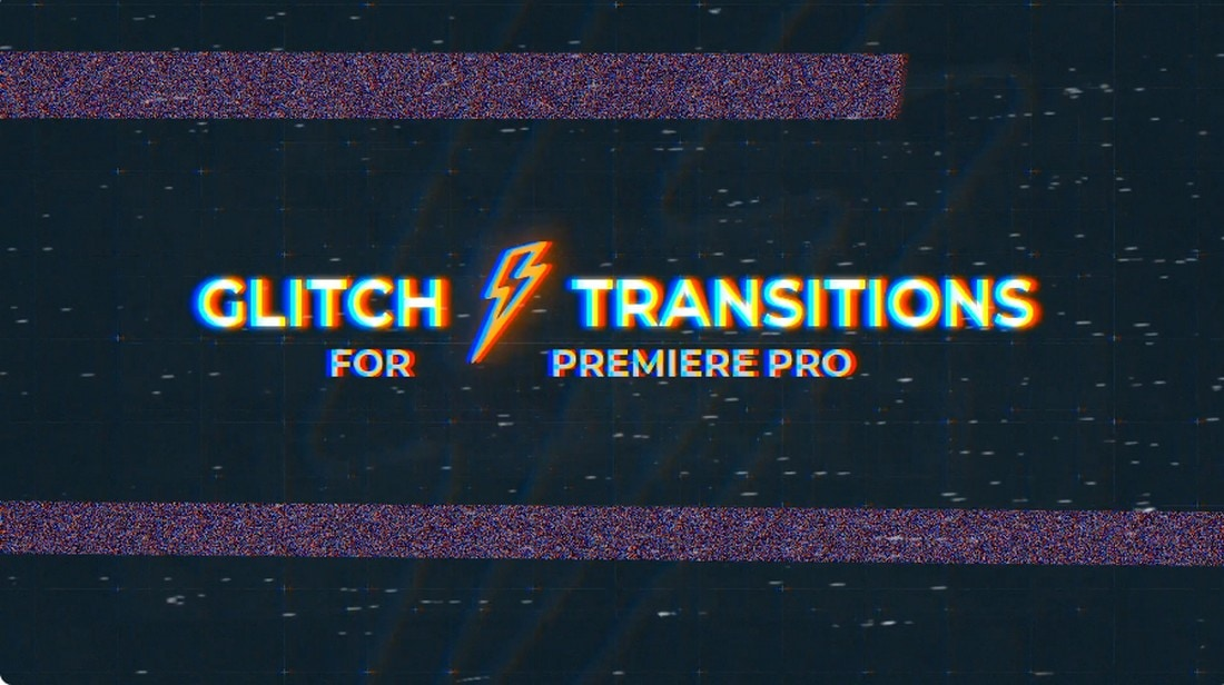 Glitch Transitions for Premiere Pro