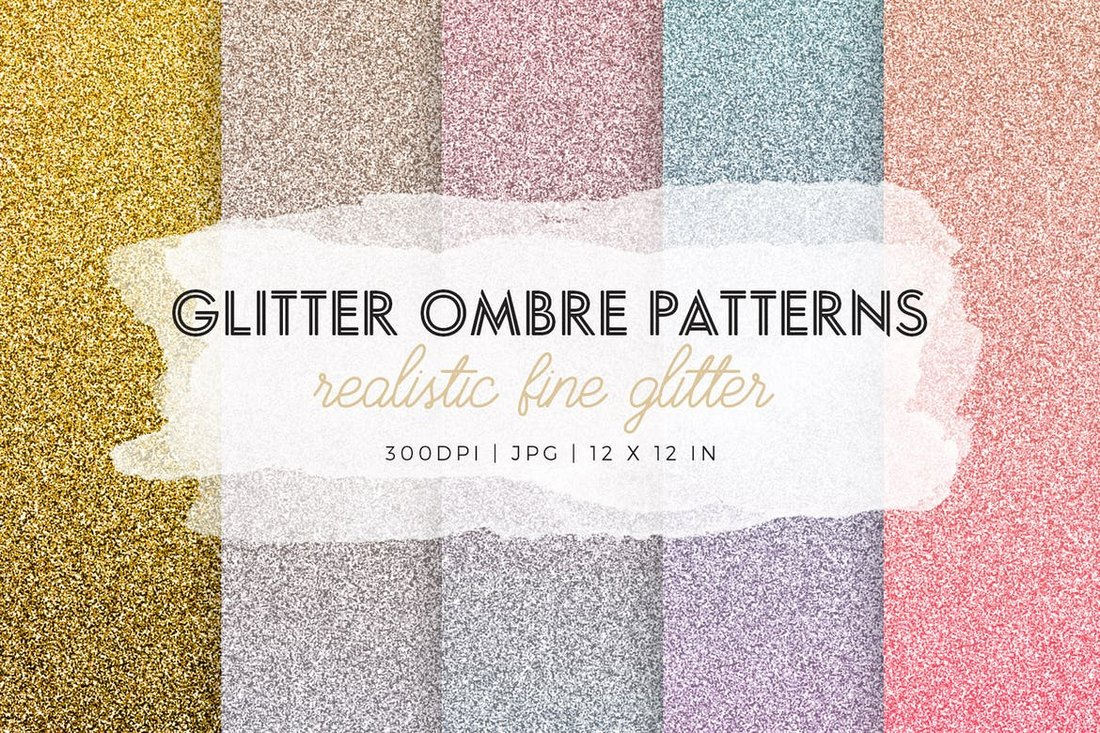 Glitter-Ombre-Patterns 50+ Best Free Photoshop Patterns 2021 design tips