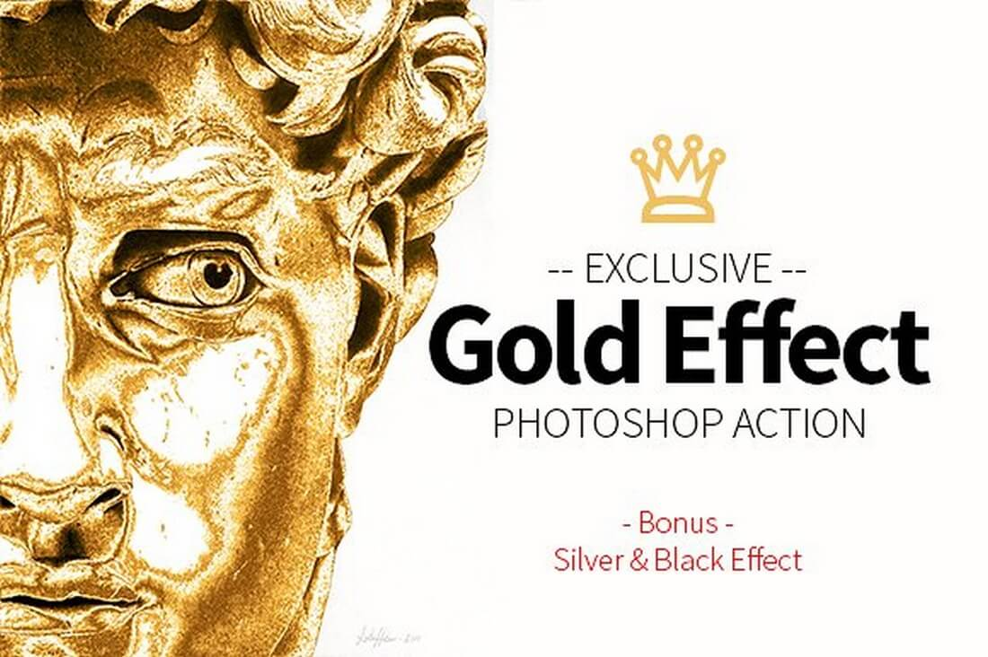 Gold-Effect-Photoshop-Action-2 40+ Best Photoshop Actions of 2018 design tips