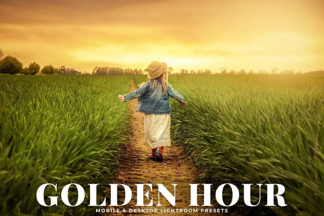 Golden Hour Creative Lightroom Presets
