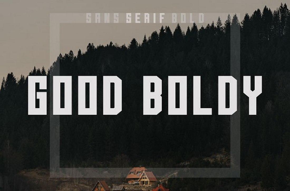 Good Boldy - Free Block Font 2