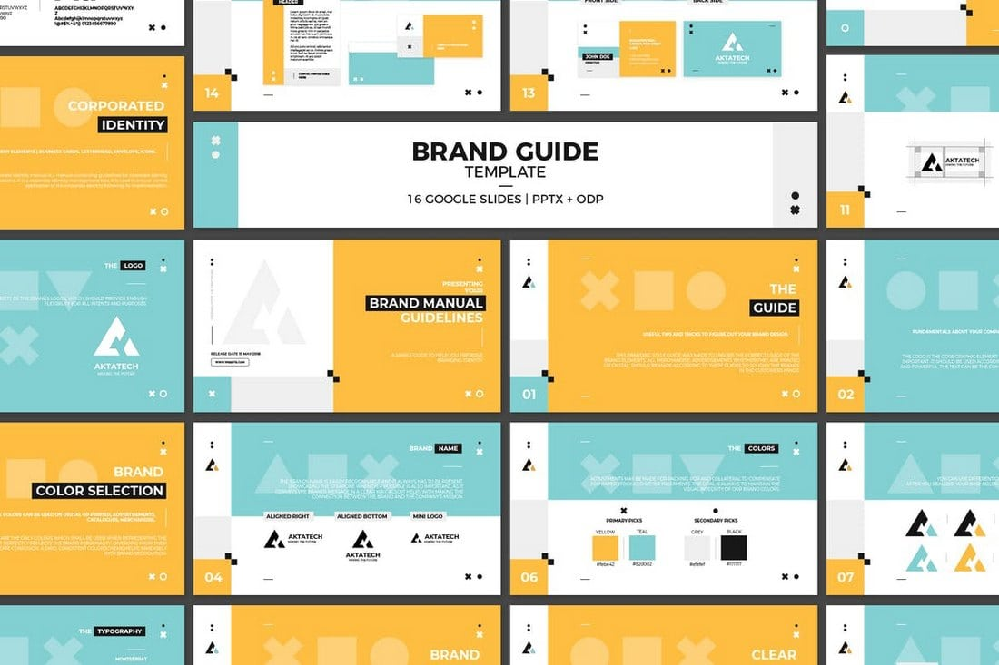 Google-Slides-Brand-Guidelines-Template 35+ Best Google Slides Themes & Templates 2019 design tips