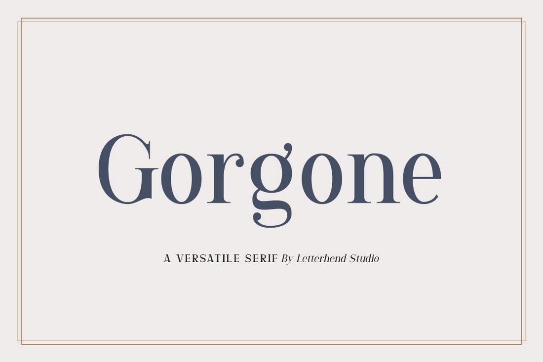 Gorgone - Free Elegant Serif Font