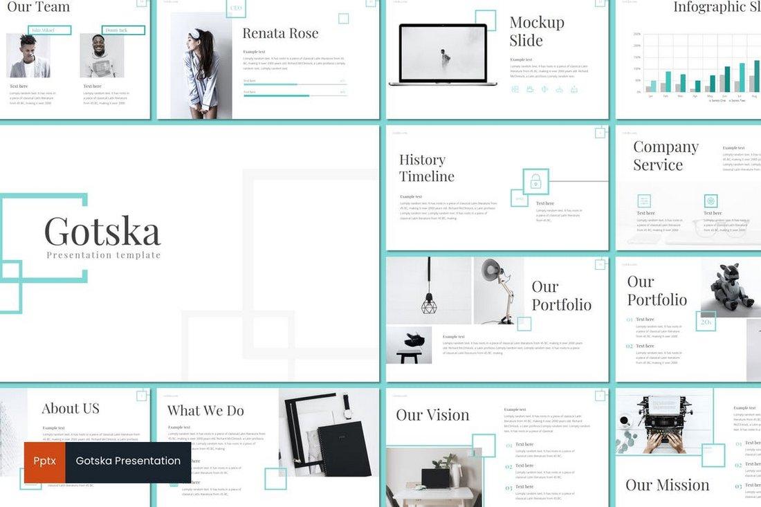 Gotska - Powerpoint Template