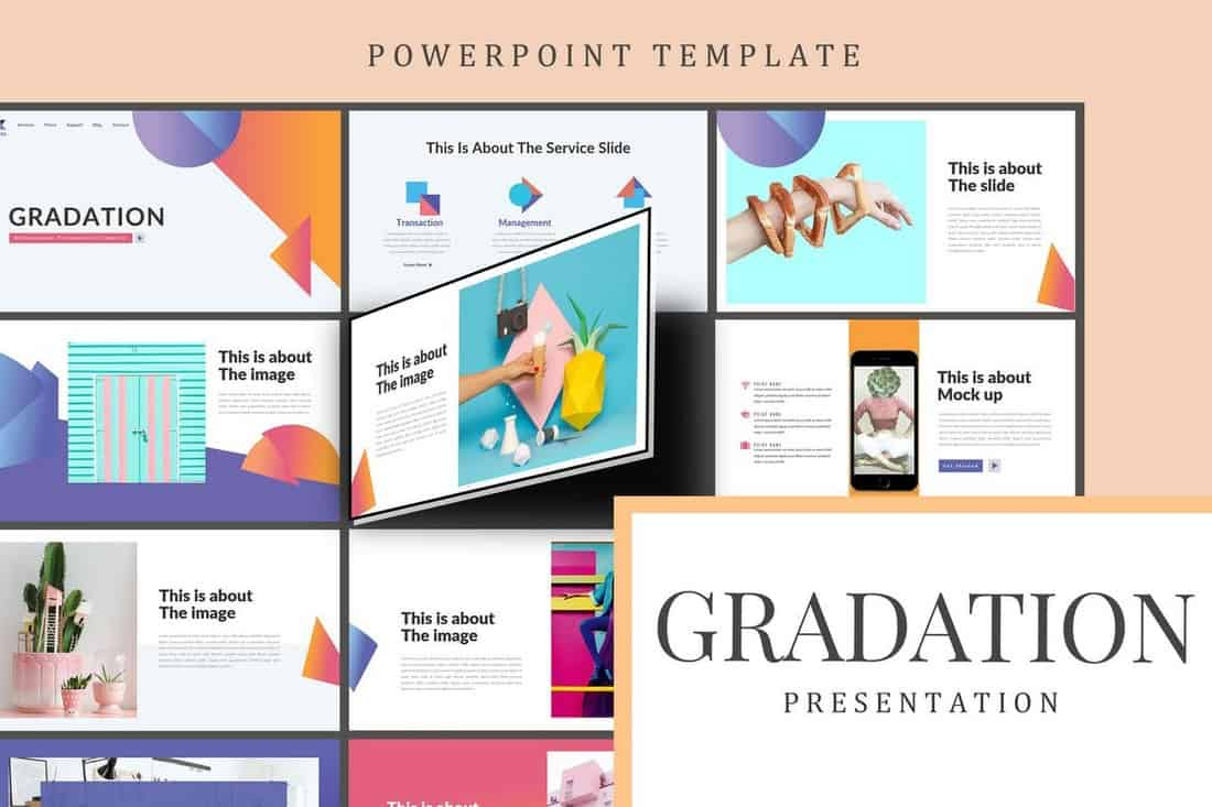 Gradation - Creative Powerpoint Template