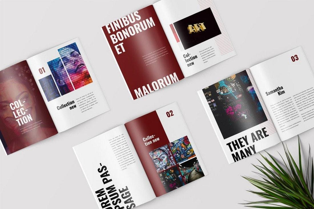 Graffiti-Lookbook-Magazine-Word-Brochure 40+ Best Microsoft Word Brochure Templates 2020 design tips  Inspiration|brochure|templates