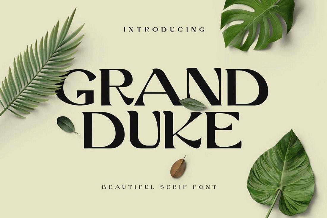 Grand Duke - Beautiful Serif Font