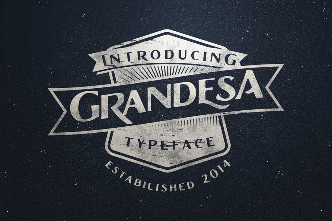 Grandesa-Retro-Typeface 20+ Best Fonts for Flyers design tips