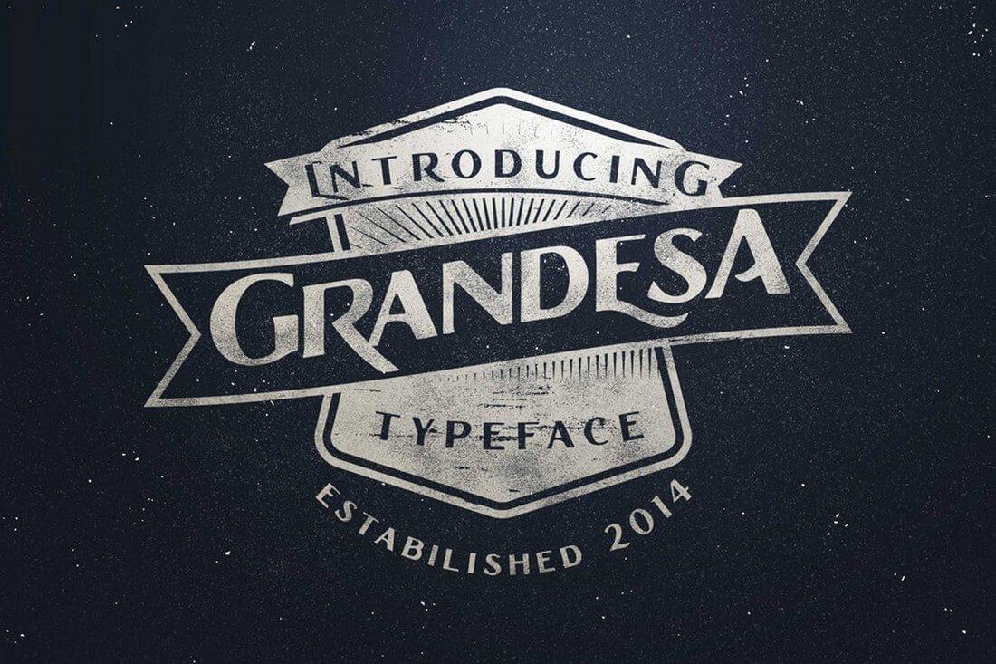 Grandesa 60+ Best Big, Poster Fonts of 2019 design tips