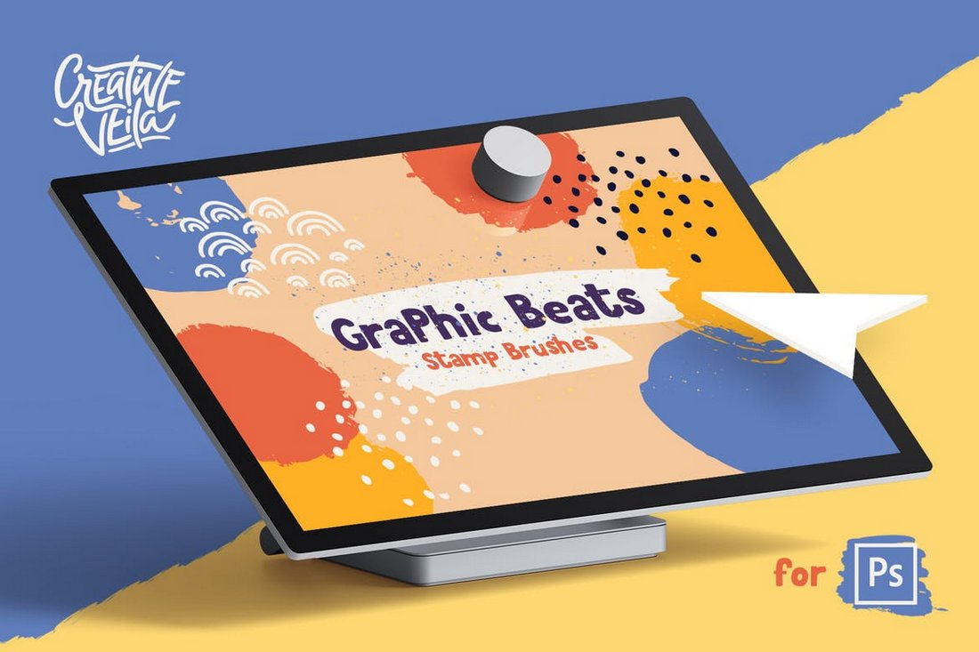 Graphic Beats - 300+ Photoshop Brushes