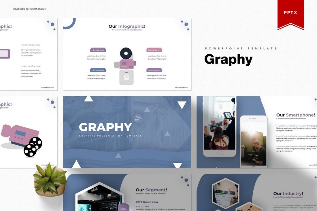 Graphy-Creative-Powerpoint-Template 30+ Animated PowerPoint Templates (Free + Premium) design tips