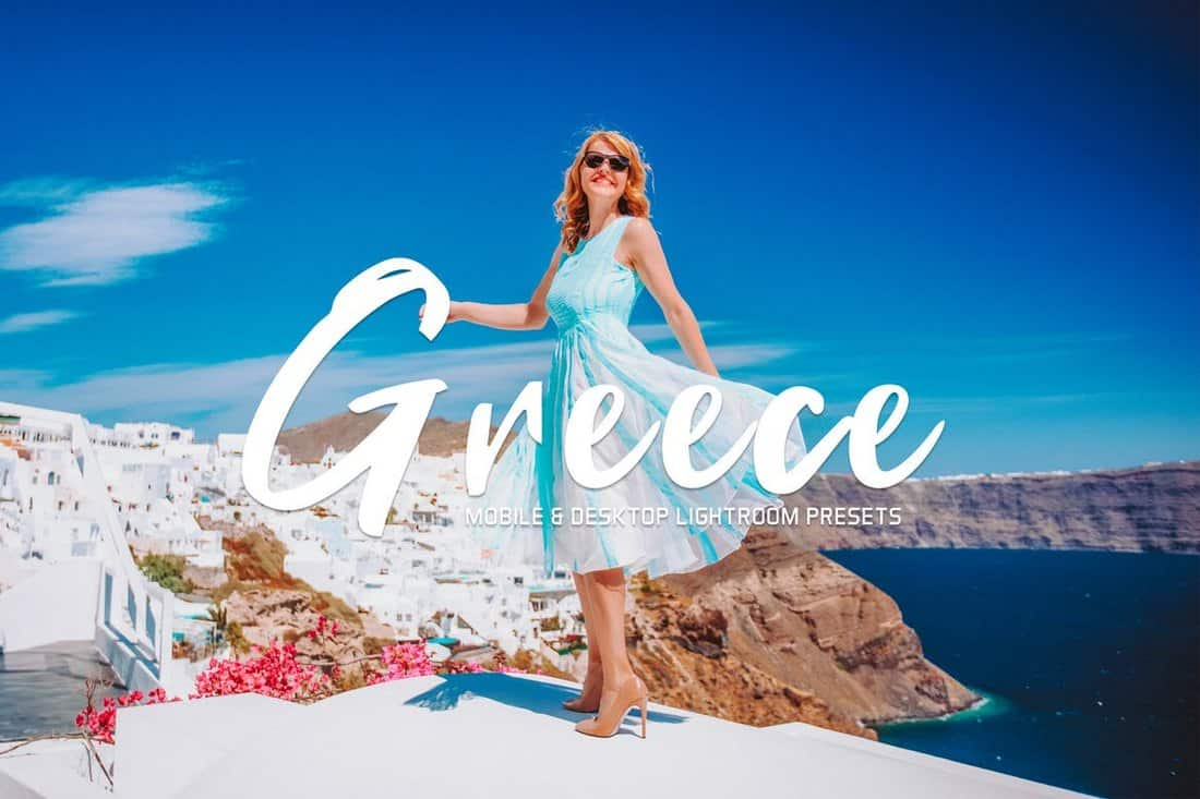Greece Mobile & Desktop Lightroom Presets