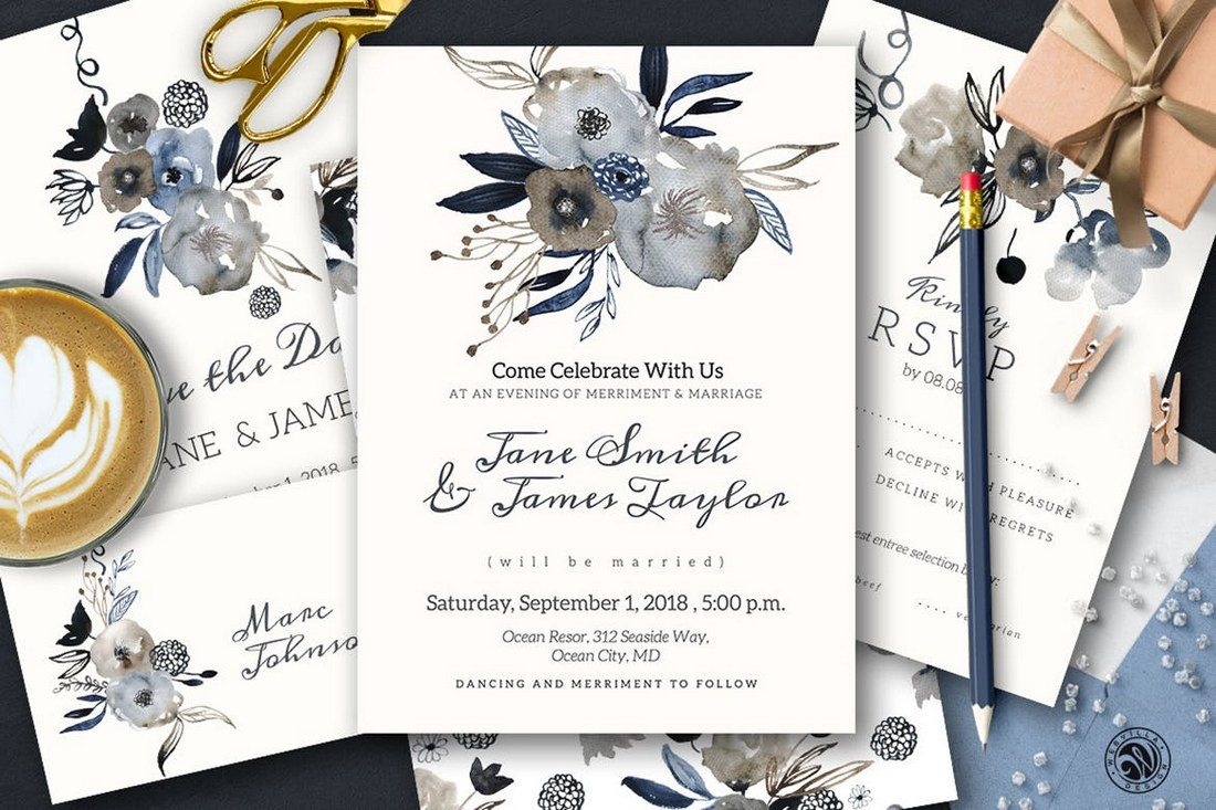 10 Design Tips for Wedding Cards Invitations Design Shack