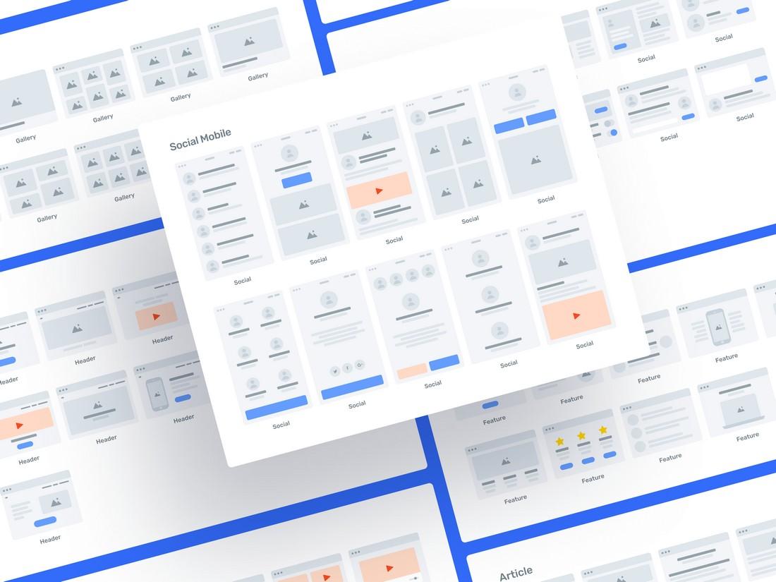 Greyhound Flowcharts - Free Figma Template