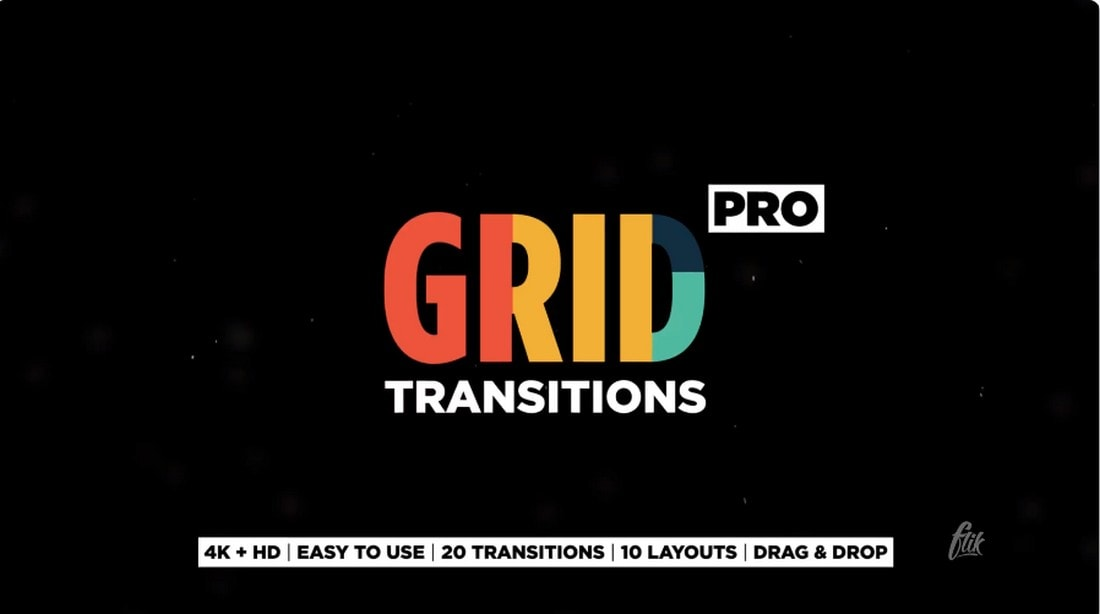 Grid Transitions for After Effects