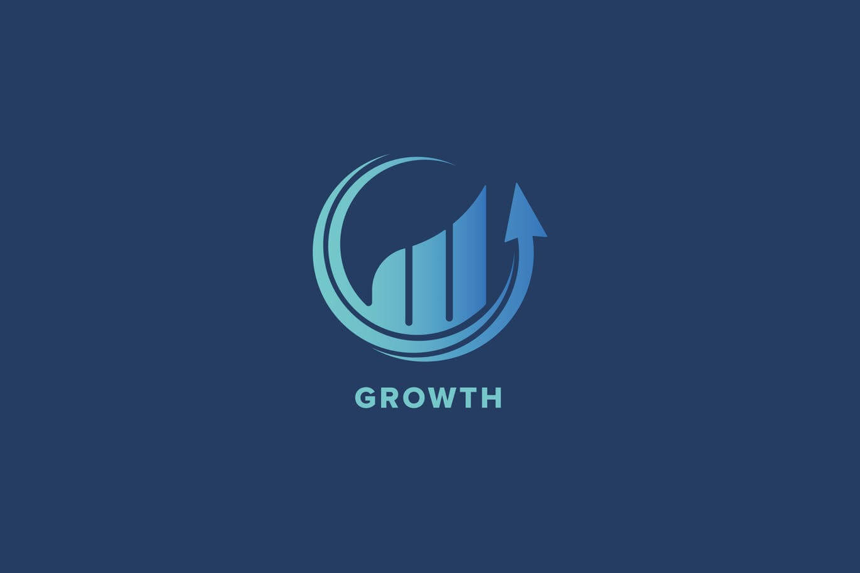Growth-Logo-Template 50+ Best Minimal Logo Design Templates design tips