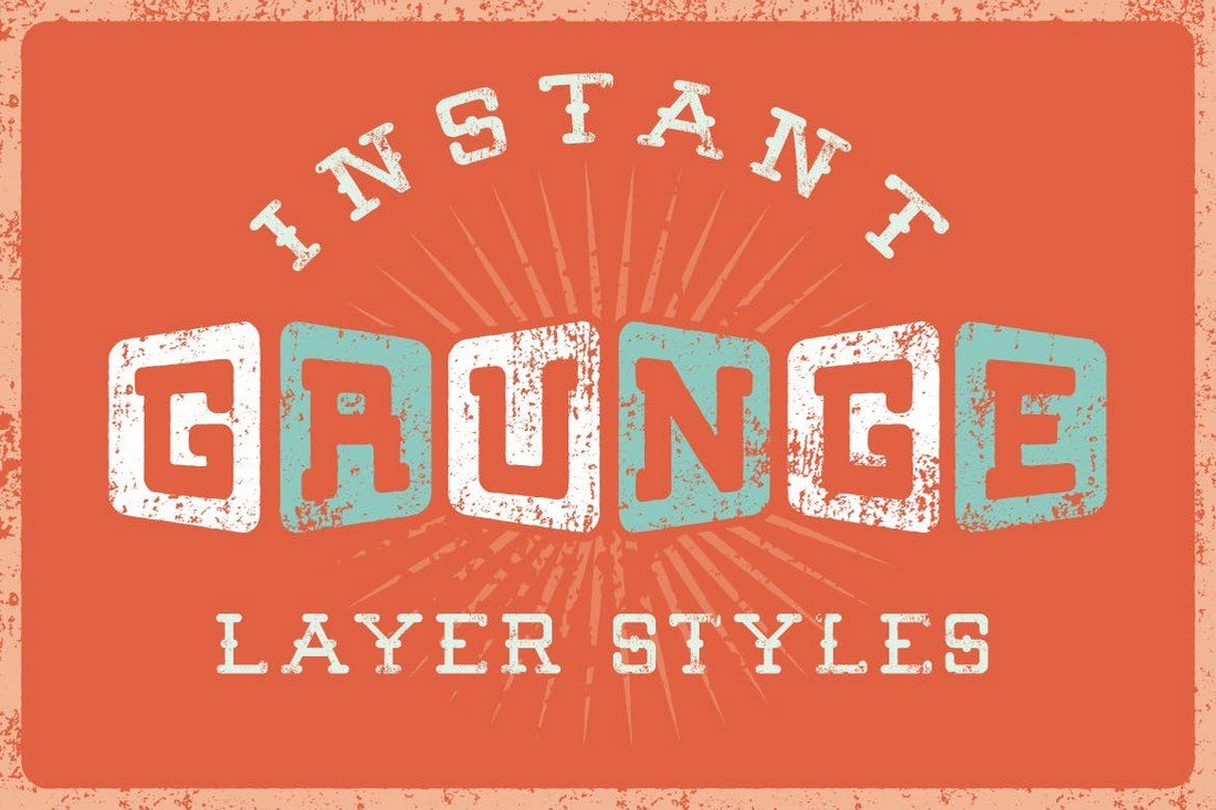 Grunge-Text-Layer-Styles 30+ Best Retro Text Effects & Styles design tips