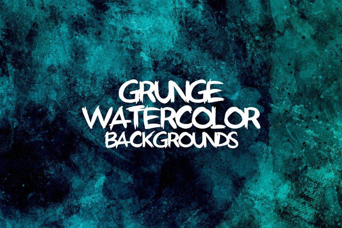 Grunge-Watercolor-Backgrounds 30+ Best Watercolor Background Textures design tips