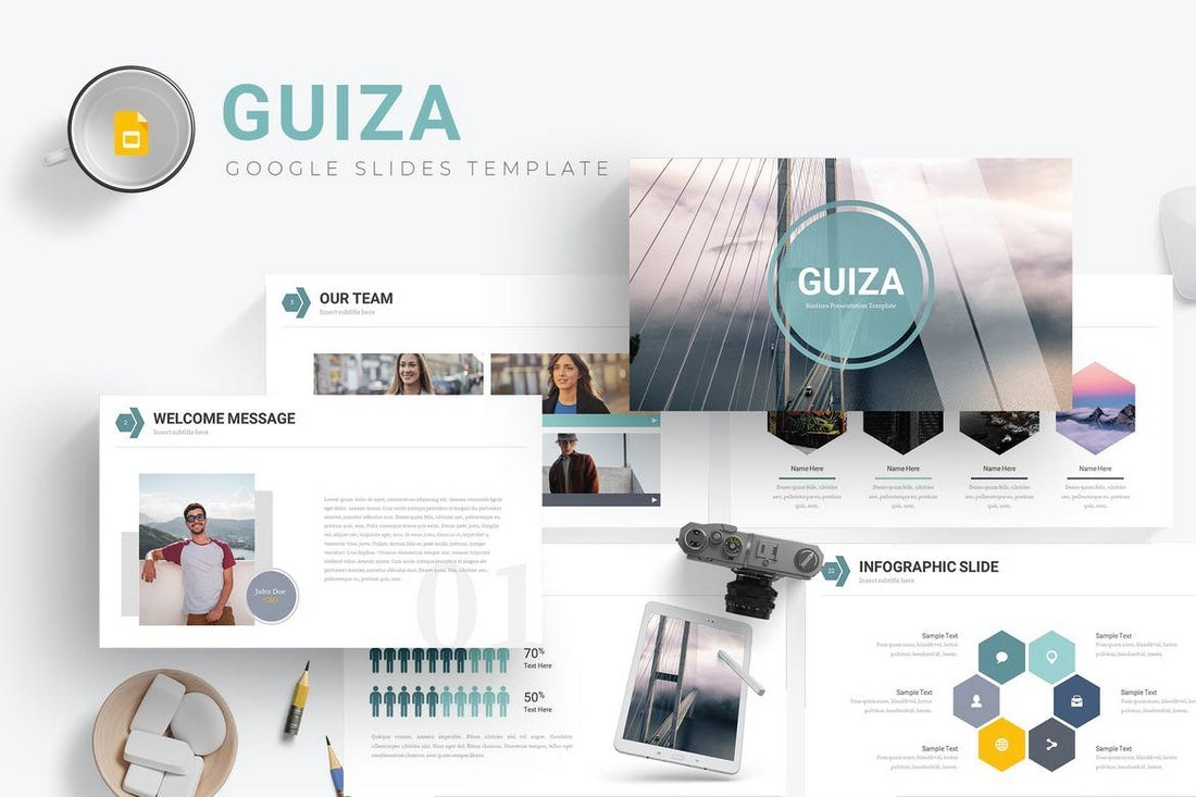 Guiza-Google-Slides-Template 35+ Best Google Slides Themes & Templates 2019 design tips