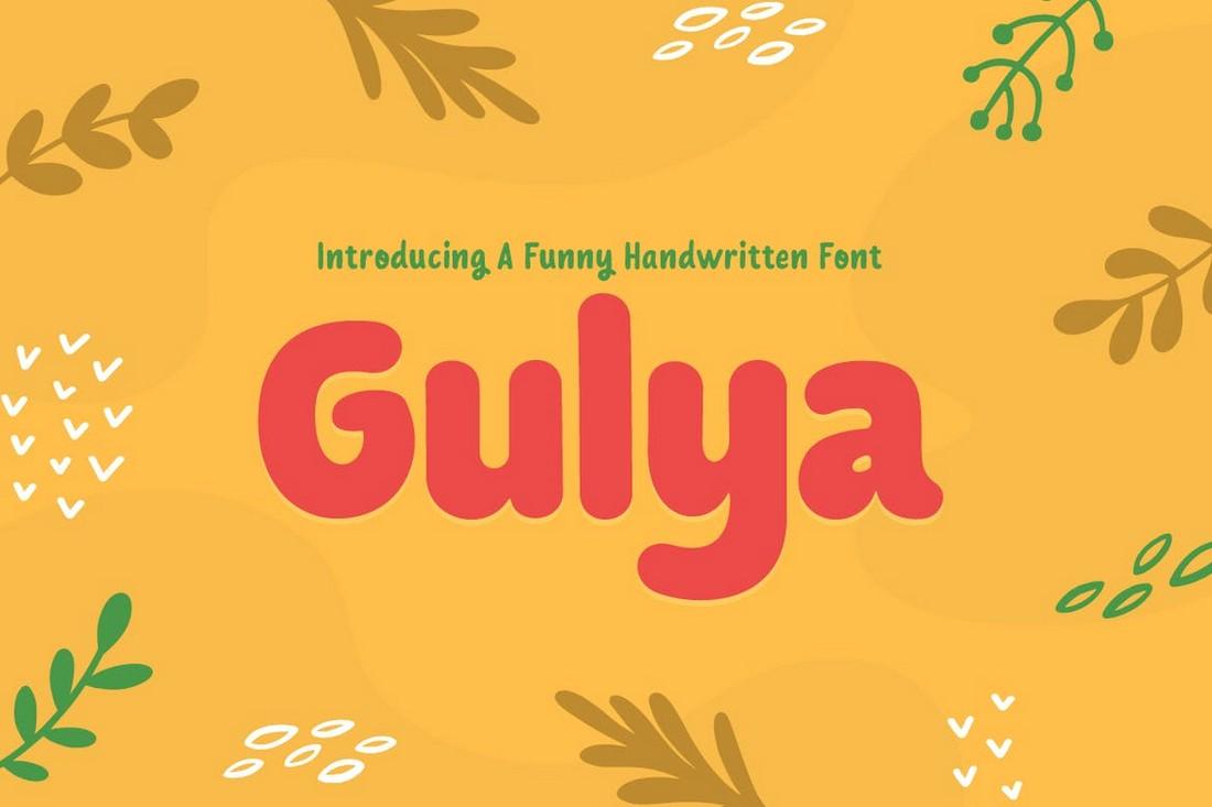 Gulya - Creative Handwritten Font