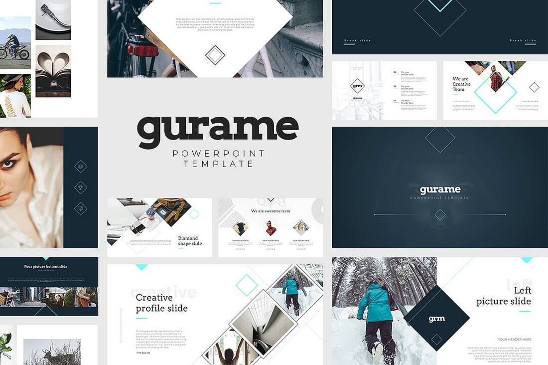 60 beautiful premium powerpoint presentation templates design shack gurame powerpoint template toneelgroepblik Image collections