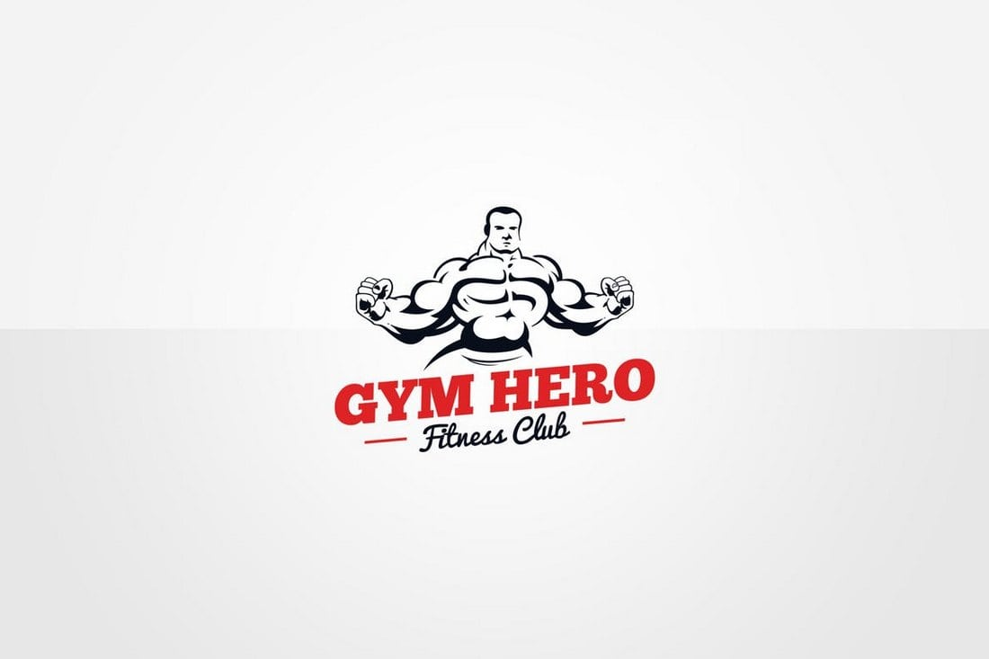 Gym-Logo-Template 40+ Best Photoshop Logo Templates (PSD) design tips